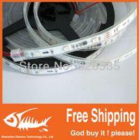 Wholesale Holiday Ics - 5m ws2811 50 ICs 5050 digital RGB Strip,150LED IP67 tube waterproof dream magic color 12V Led Strip,30LED m + free shipping