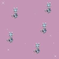 decorações em strass para iphone venda por atacado-Atacado-livre navio 10 peças / pacote 3D claro pedra prata liga de gato AB strass Nail Art decoração de Glitter móvel iphone