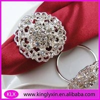 Wholesale Napkin Ring Cheaper - (100pcs lot ) cheaper round napkin rings wedding decoration