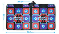 Wholesale Dance Pad For Tv - 2015 New Arrival Two People Dance Pad New dance pad Non-Slip Dancing Step Dance Game Mat Pad for PC & TV free shipping