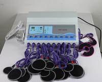 Wholesale Electro Muscle Stimulator - hot Electro stimulation ems massager microcurrent muscle stimulator TM 502