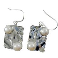 Wholesale Designer Handmade Earrings - Designer Handmade Chandelier Earrings for E278 Bridal Pearl Earrings 925 Silver Fresh Water Pearl Dangle Earrings Online
