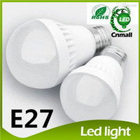 Wholesale E27 3w White - LED Bulbs E27 Globe Bulbs Lights 3W 5W 7W 9W SMD2835 LED Light Bulbs Warm Pure White Super Bright Light Bulb Energy-saving Light