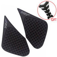 Wholesale Yamaha Tank Decals - Fuel Tank Traction Side Pad Protector Decal For Yamaha YZF R3 R6 R15 R25