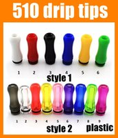 Wholesale E Cigarette Drip Tips Clear - Drip Tips 510 Drip Tips Plastic E Cig Tip Clear Mouthpiece For E Cigarette Atomizer 2015 Popular Ecig Accessories For Rda Rba FJ180