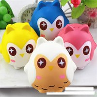 Wholesale Lovely Kids Shop - New shop Lovely multi colored Squishy owls slowly rising toys decompressing anti anxiety gifts toys free transportation