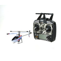 Wholesale Rc Mini Outdoor Helicopter - Outdoor Flying Helicopter Wltoys V911 4CH Single Blade Mini RC Helicopter with 2.4G Transmitter helicoptero order<$18no track