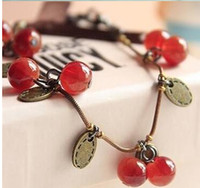 Wholesale Cherry Quartz - HOT Fashion Restore ancient ways small sweet cherry beautiful bracelet