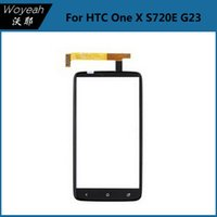 Wholesale Cheap One X - Original For HTC One X S720E G23 Digitizer Touch Screen Glass Parts Repair Touch Panels Cheap Price