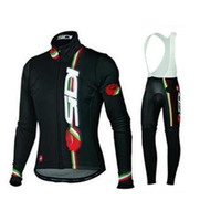hot sale men cycling Jersey knit in winter autumn fall with long sleeve  bike top   (bib) pants in cycling clothing b4f4b3664