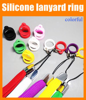 Wholesale Lanyards For E Cig Mods - Silicone lanyard Ring Electronic Cigarette Silicon Vape Ring For Mechanical Mods E Cigarette Other e-Cig Accessories Silicone Rings FJ048