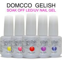 absorva o gelado uv venda por atacado-12 pcs de Alta Qualidade Harmony Gelish Gel Unha Polonês Soak Off LED UV Laca Polonês