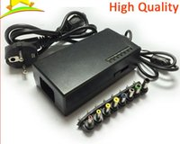 Wholesale Hot Sale Universal W Laptop Notebook AC Charger Power Adapter with EU US AU Plug DHL Fedex