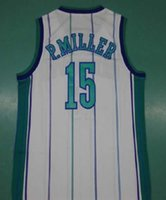 Wholesale Boy Master - Top Quality Throwback 15 Master P Percy Jersey Miller P.Miller Basketball Jerseys Mens Percy Miller Retro College Basketball Shirts