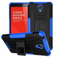 Wholesale Tyre Brands - For ONE PLUS 5T Xiaomi Redmi Note 2 Kickstand Hybrid Stand Camo PC Hard TPU Silicon GEL Tire Tyre Phone Case Ballistic Shockproof Cover 1PCS
