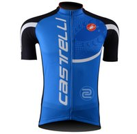 Wholesale New Jersey Cycling - Wholesale-Free Ship New Hot Fashion Outdoor Sports Road Bike Team Cycling Jersey Outfit Shirt Top Garment Size S M L XL 2XL 3XL
