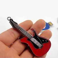 Wholesale Guitars China Wholesale - 2015 China advertising on golden key usb 4GB 8GB 16GB 32GB 64GB usb business gifts guitar model USB