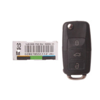 Wholesale Keyless Remote Prices - car Best Price for VW 3-Button Remote Key 315MHZ Free Shipping M6987 car vw golf4 vw passat smart key