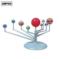 Wholesale- JJOVCE Science Children's Teaching Toys Pittura New Hot Nove pianeti nel sistema solare Esplora