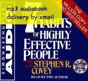 Wholesale Stephen Covey The Habits of Highly Effective People audiobook mp3