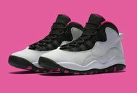 Atacado Retro 10 Paris NYC CHI Rio LA Hornets City Pack Vivid Pink OVO Men Women Basketball Shoes Sneakers 10s Retro Sport Shoes