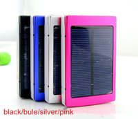 Wholesale backup battery for iphone ipad - 20000mAh Portable 2 USB Port Solar Power Bank Charger External Backup Battery With Retail For iPhone iPad Samsung Mobile Phone Smartphone
