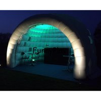 Wholesale Fiberglass Shaping - Wholesale- inflatable meeting tent,giant inflatable white dome igloo tents,air dome shaped tent inflatable igloo tent with led lights