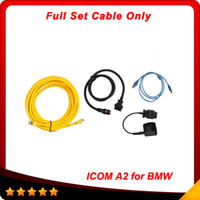Wholesale icom a2 b c - ICOM A2 for BMW Diagnostic & Programming only full set cable for ICOM A2+B+C