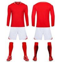 survêtement manches longues achat en gros de-Nouveaux Vêtements de football à manches longues sweat-jogging costume polo sport de l'équipe de football de compétition Entraînement