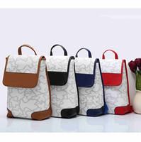 Wholesale Arriva Fashion - aaa quality fashion designer backpacks new arriva 2017 3 color pu leather women travel backpacks free shipping