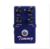 Wholesale Electric Guitars Effects - Timmy Overdrive -Guitar Effect Pedal True Bypass MU0842