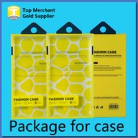 Box Packaging Universal Mobile Phone Case pacote de plástico PVC Retail com Inner Insert para iPhone Samsung Phone HTC celular caso Fit 5.7 polegadas