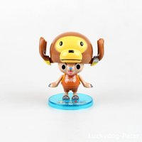 Wholesale Chopper Pvc Tony - Free Shipping One Piece Tony Tony Chopper Action Figure Chopper Cos Monkey Doll PVC ACGN figure Garage Kit Toy Brinquedos Anime 8CM