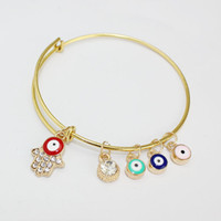 Wholesale Alex Ani Set - 2015 Alex Charm Gift For Women Ani Daily Gold Silver Plated Alloy Bracelet & Bangle Statement Jewelry Accessories For Women EH158