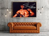Wholesale Rambo Free - Free Shipping Stallone Movie The First Blood Rambo With Dagger High Quality Art Posters Print Photo paper 16 24 36 47 inches