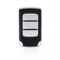 anahtarlık gece görüş toptan satış-HD 1080 P Araba Anahtarlık Kamera 9712 Lens Desteği 2 GB-32 GB TF Kart Gece Görüş Mini Kamera DVR Gadget