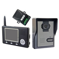 2.4GHz Wireless Wifi 3.5 '' TFT LCD Color Video Door Phone Monitor Intercom Início Security Doorbell CMOS Camera