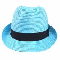 Wholesale Large Ladies Straw Hats - Wholesale-New Arrival Women European Wind Large Brim Straw Hat Ladies Round Bohemia Sun Hats Beach Headwear Cap 1 Pcs