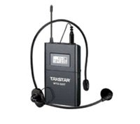 Wholesale Uhf Voice - op Quality Takstar WTG-500 UHF PLL Wireless tour guide system voice device teaching earphones Transmitter+Receiver+MIC+earphone earphone ...