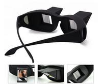 d80742c2a0 100 unids Horizontal Lectura TV Sit Ver Gafas en la Cama Acostarse Cama  Prisma Espectáculos The Lazy Glasses # 001