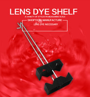 Wholesale Material Shopping Bags - lens dyeing shelf ,plastic material 2pcs good quantity low price eyeglasses accessories for glasses shop wholesale free shipping