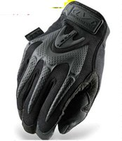 Wholesale Mechanix Mpact Gloves Wholesale - Wholesale-MECHANIX MPACT Wear Edition Motorcycle Outdoor Tactical Combat US Seal Army Military Full Finger Gloves mittens