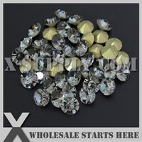 Wholesale Pointed Back Rhinestones 8mm - Free Shipping SS38(8mm) Black Diamond Loose Rhinestone Chaton,Pointed Back,Used for Single Metal Setting,Cup Chain Decorations