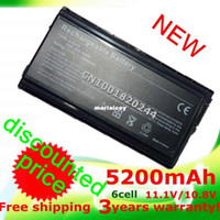 Wholesale Asus F5gl Battery - High quality- HOT- 5200mAh laptop Battery for Asus A32-F5 90-NLF1B2000Y F5 F5C F5GL F5M F5N F5Ra F5RI F5SL F5Sr F5V F5VI F5VL