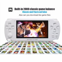 Wholesale Portable Picture Player - High Quality 4.3'' Ultra-Thin 4GB 8GB Portable Handheld Game Player Mini Video Game Console MP5 Music Player Take Pictures Mini Game Console