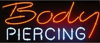 Body Piercing Loja Neon Sign Light Commercial Custom Sign Shop Mostrar Real Glass Tube Bar Disco KTV Motel Sign Light Flashlamp 17