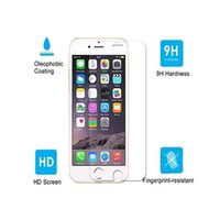Wholesale Iphone Glass For 3d - Full Cover Tempered Glass Screen Protector iPhone 6 6s Clear 3D Curved 9H Front Super Thin Coverage Film Tempered Glass for Mobile Phone