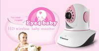 Wholesale New Wireless Baby Monitor - Wholesale-2014 new Arrival Vstarcam C7838WIP pink Wireless IP Camera 720HD IR Network Webcam WIFI CCTV Baby monitor 4pcs DHL Free shipping