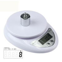 Wholesale Brand Diet - freeshipping Brand new 5000g 1g 5kg Food Diet Postal Kitchen Digital Scale scales balance weight weighting LED electronic