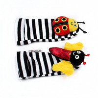 Wholesale Pair Lamaze - Wholesale-free shipping Lamaze Garden A pair of children's bell cartoon socks #8477
